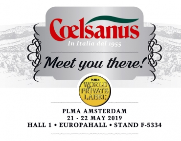 COELSANUS takes part at PLMA 2019