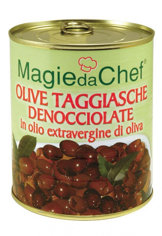 Pitted Taggiasca Olives