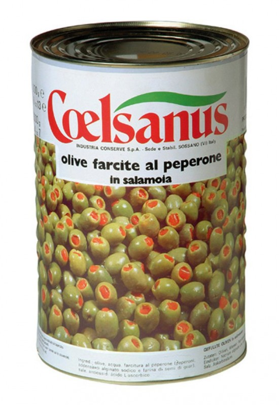 Olives vertes farcies