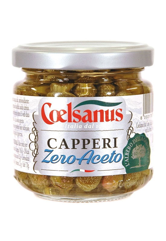 Vinegar-Free Capers