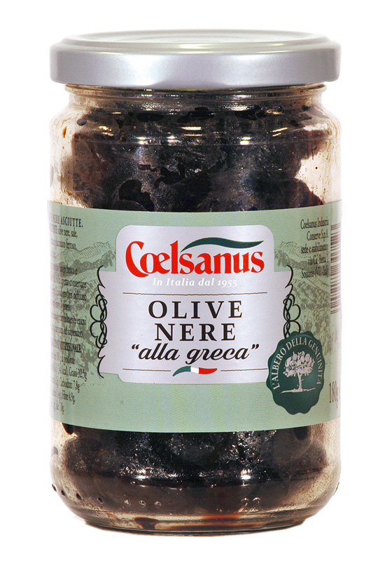 Greek Style Black Olives