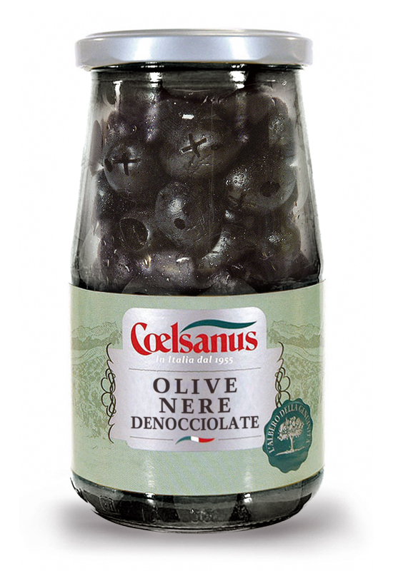 Dry Pitted Black Olives