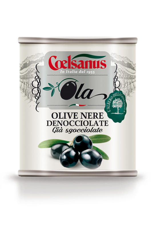 """OLA"" Pitted Black Olives"