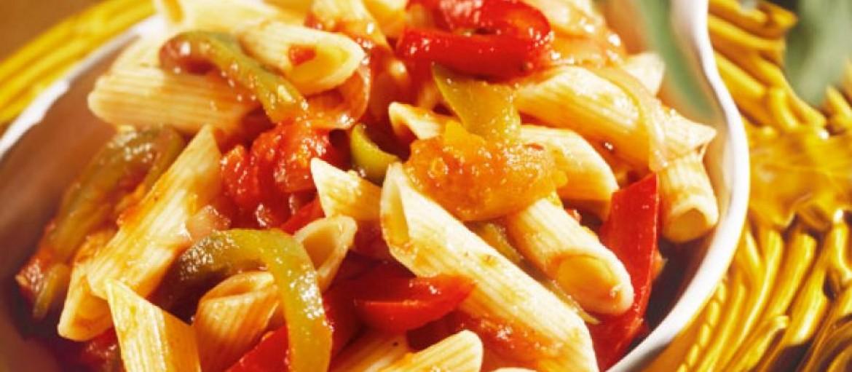 pasta-crema-peperoni-tonno-ricetta