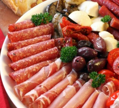 Mélange de légumes «Antipasto all'italiana»