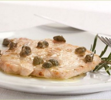 Escalopes with capers